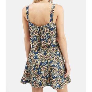 Topshop Dresses - Topshop daisy print overlay dress